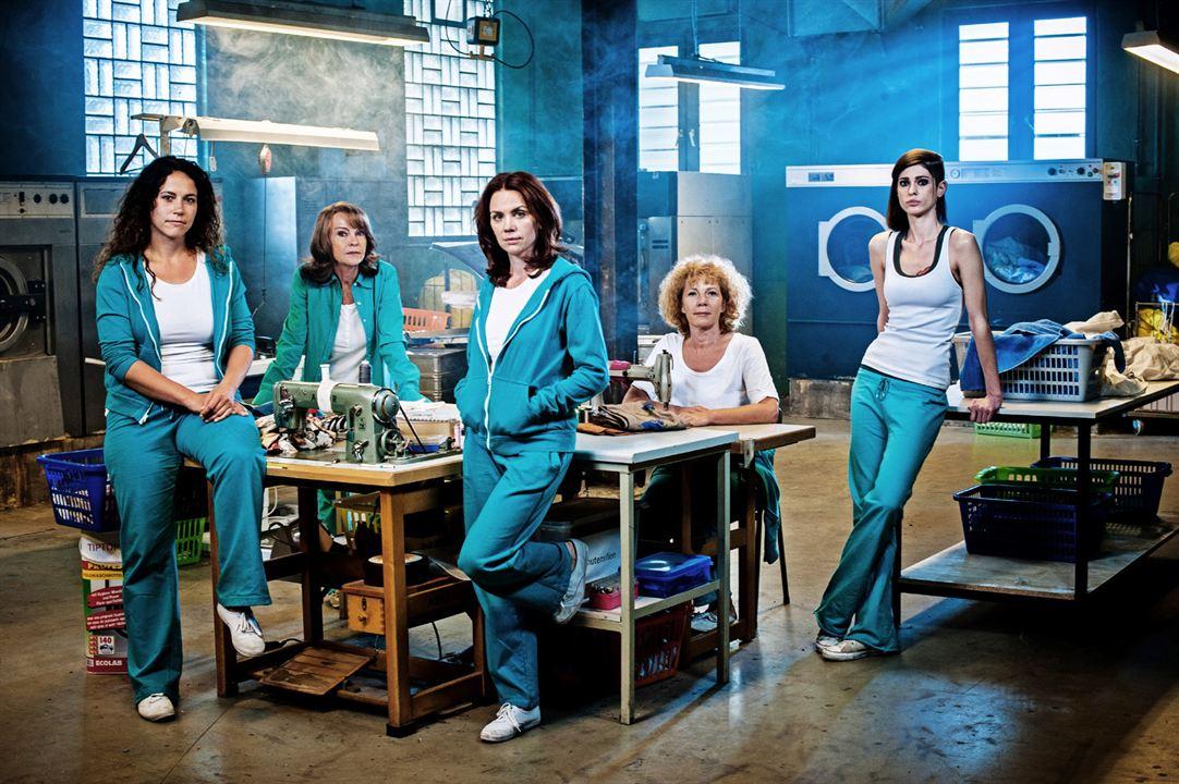 Block B - Unter Arrest : Foto Claudia Gaebel, Gisa Zach, Katrin Sass, Nina Hoger, Ulrike Röseberg