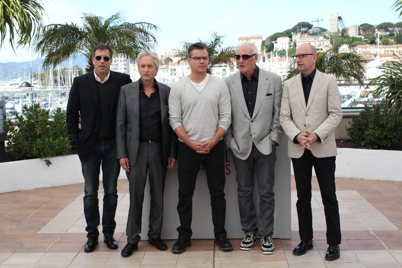 Minha Vida com Liberace : Vignette (magazine) Jerry Weintraub, Matt Damon, Michael Douglas, Richard LaGravenese, Steven Soderbergh