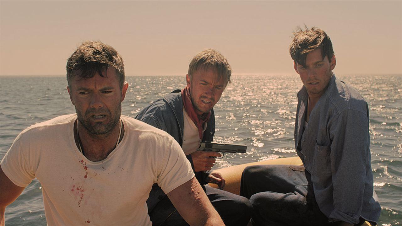 Against the Sun : Foto Garret Dillahunt, Jake Abel, Tom Felton