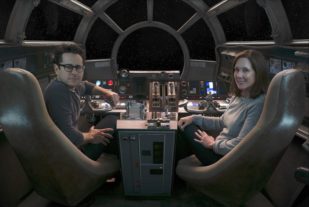 Star Wars: O Despertar da Força : Vignette (magazine) J.J. Abrams, Kathleen Kennedy