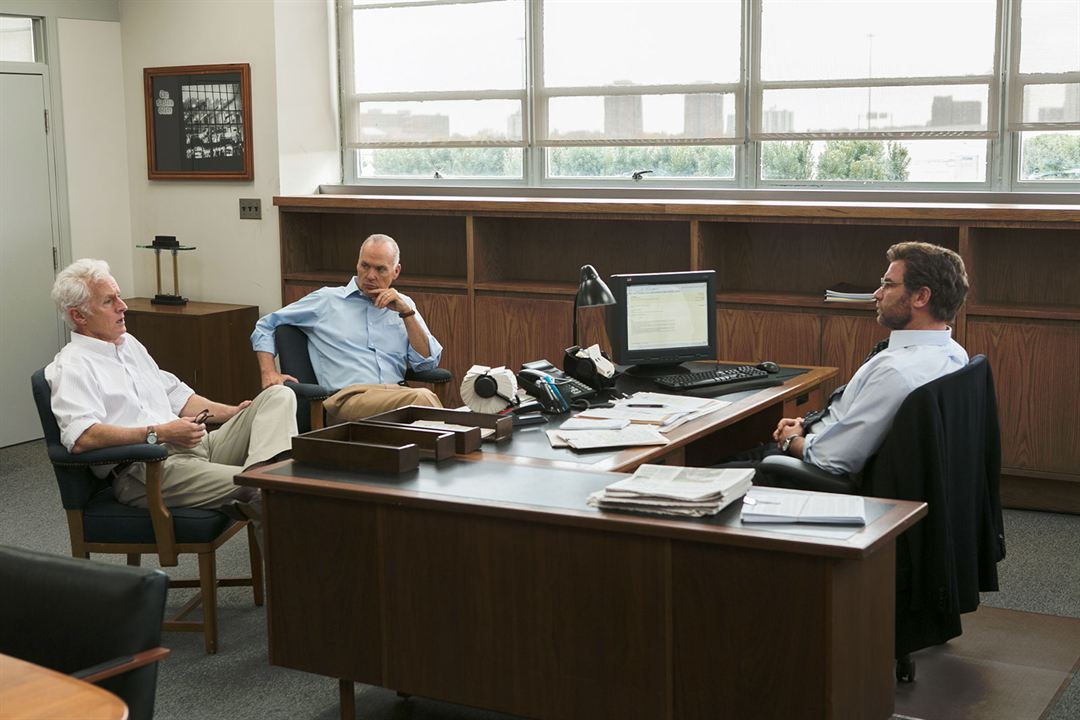 Spotlight - Segredos Revelados : Foto John Slattery, Liev Schreiber, Michael Keaton