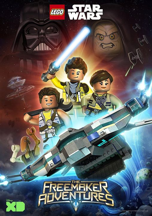 Lego Star Wars: A Aventuras dos Freemakers : Poster