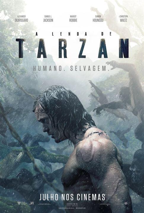 A Lenda de Tarzan : Poster