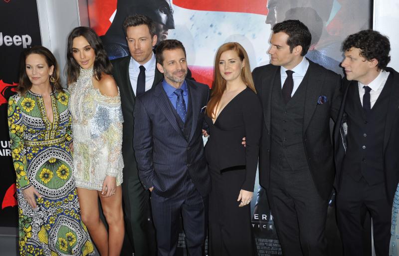 Batman Vs Superman - A Origem Da Justiça : Vignette (magazine) Amy Adams, Ben Affleck, Diane Lane, Gal Gadot, Henry Cavill