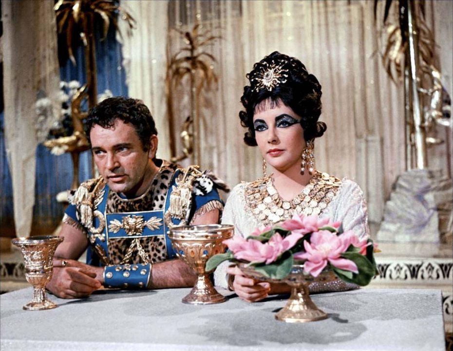 Cleópatra: Richard Burton, Elizabeth Taylor