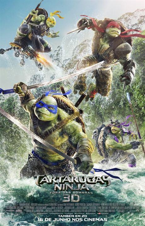 As Tartarugas Ninja - Fora das Sombras : Poster