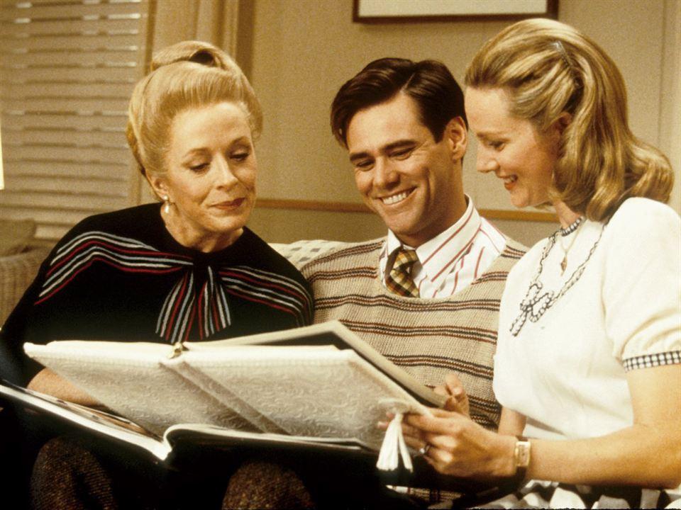 O Show de Truman : Foto Holland Taylor, Jim Carrey, Laura Linney
