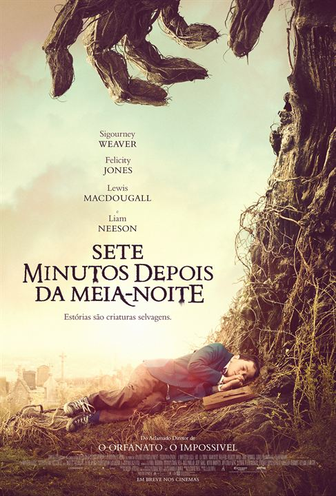 Sete Minutos Depois da Meia-Noite : Poster