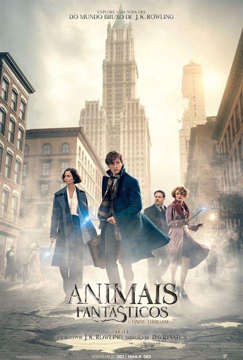 Animais Fantásticos e Onde Habitam : Poster