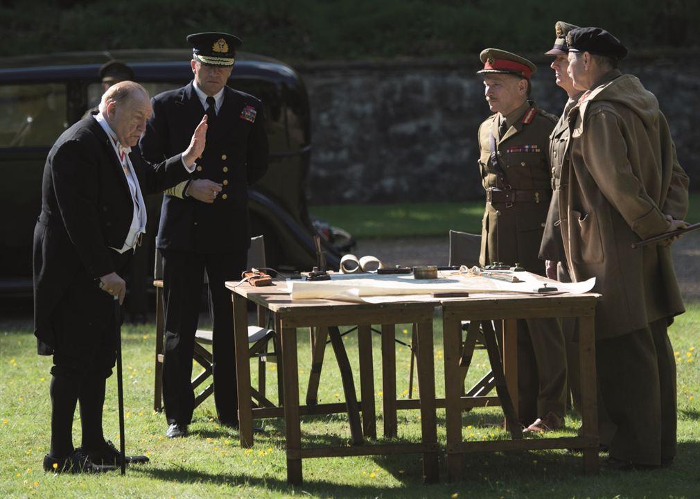 Churchill : Foto Brian Cox, Danny Webb (V), James Purefoy, John Slattery, Julian Wadham