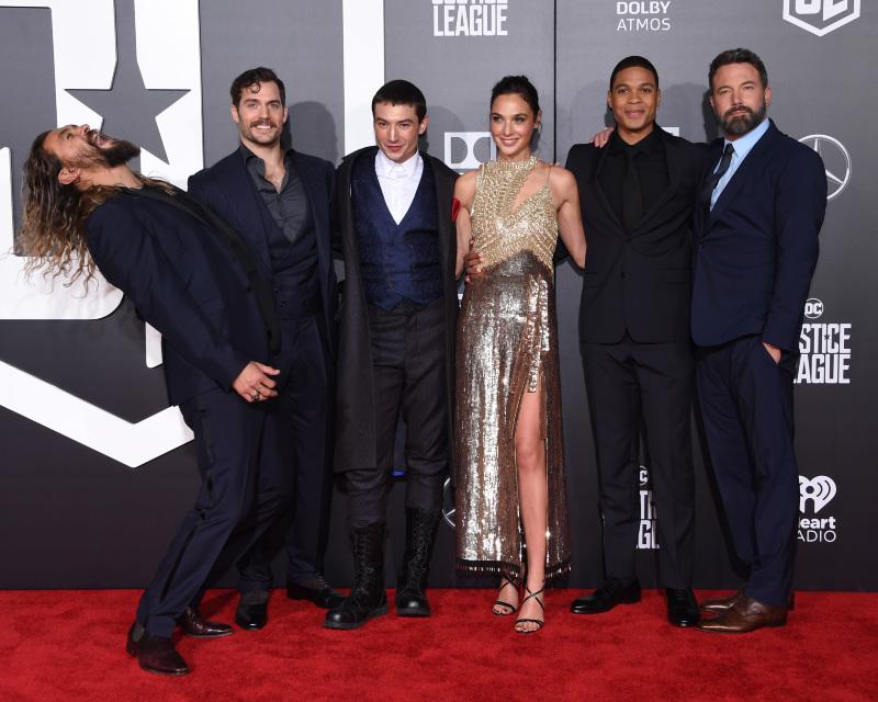 Liga da Justiça : Vignette (magazine) Ben Affleck, Ezra Miller, Gal Gadot, Henry Cavill, Jason Momoa