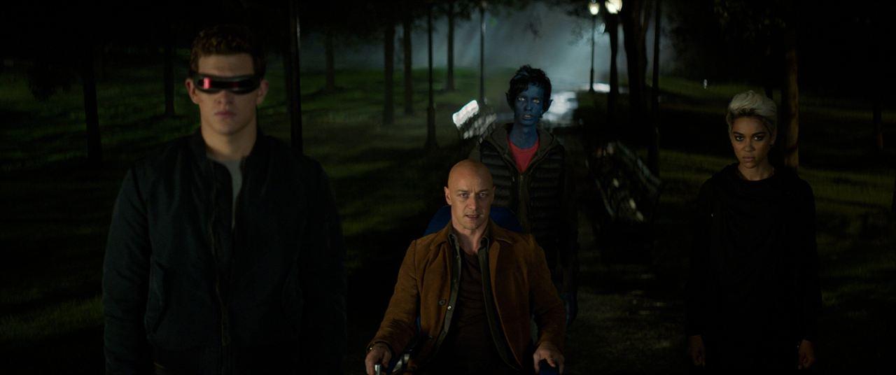 X-Men: Fênix Negra : Foto Alexandra Shipp, James McAvoy, Kodi Smit-McPhee, Tye Sheridan
