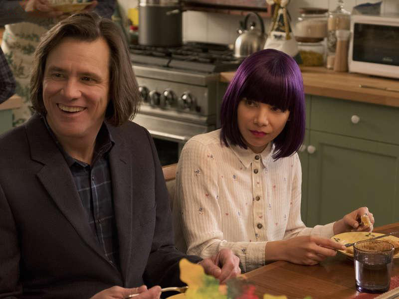 Foto Ginger Gonzaga, Jim Carrey