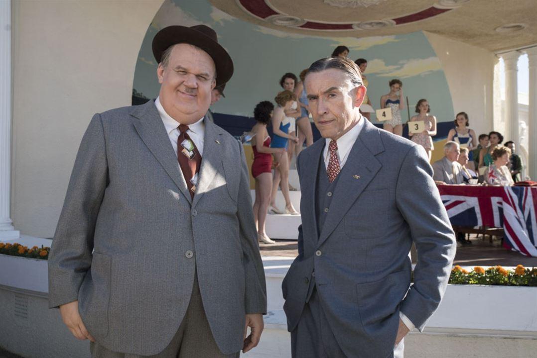Stan e Ollie - O Gordo e o Magro: John C. Reilly, Steve Coogan