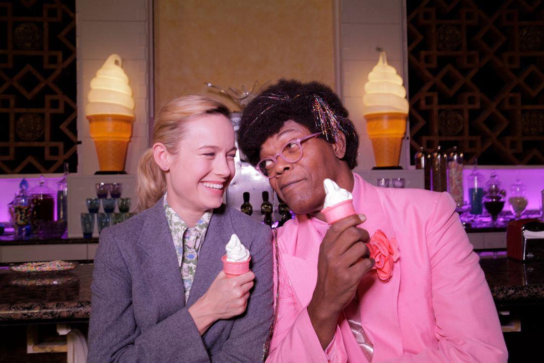 Loja de Unicórnios : Foto Brie Larson, Samuel L. Jackson