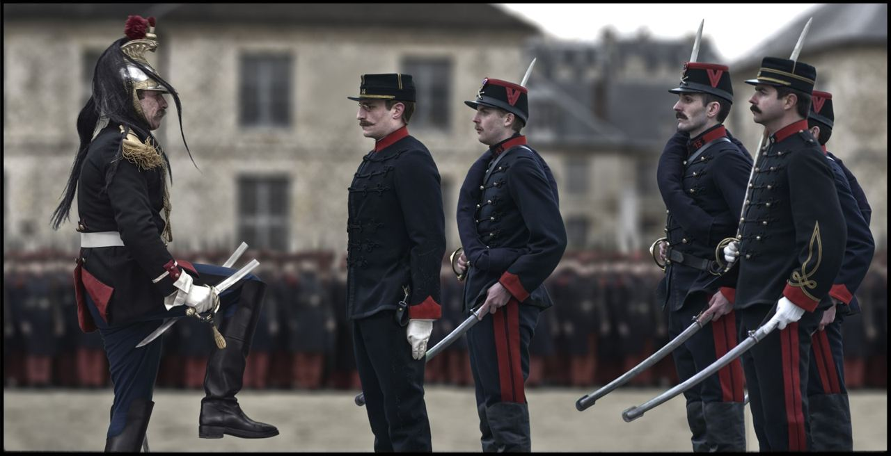 O Oficial e o Espião: Louis Garrel