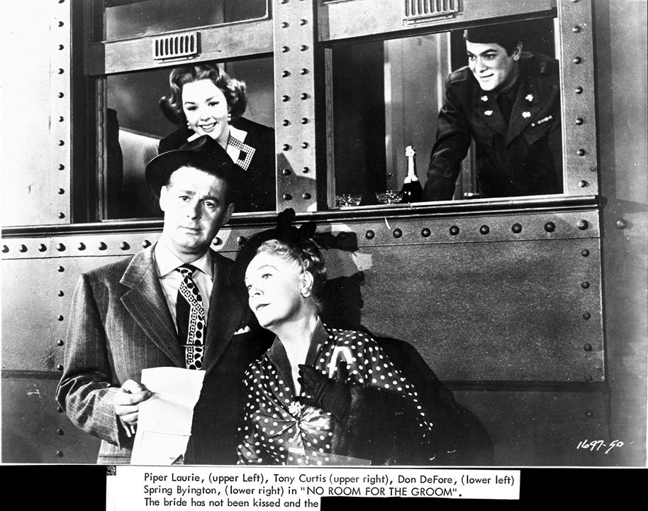 Foto Don DeFore, Piper Laurie, Spring Byington, Tony Curtis