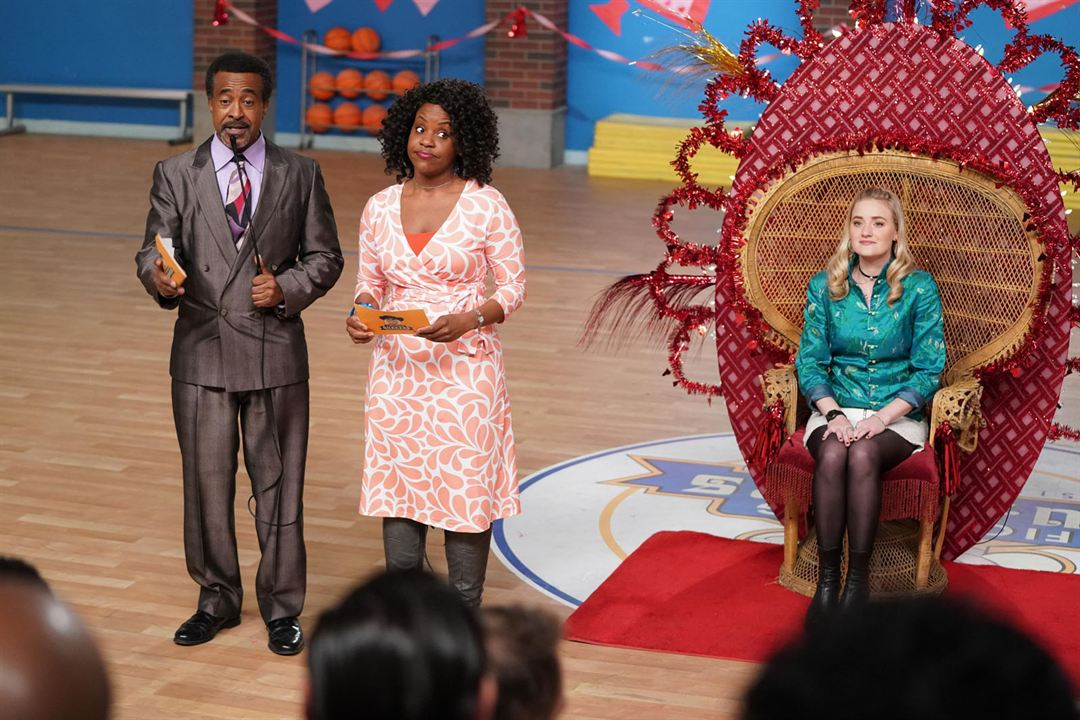 Foto AJ Michalka, Haneefah Wood, Tim Meadows