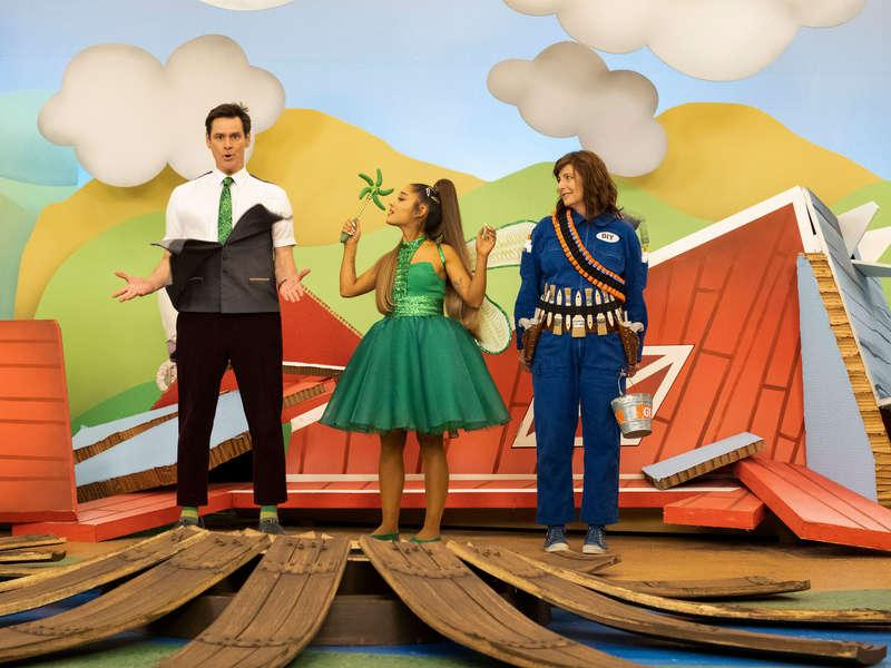 Foto Ariana Grande, Catherine Keener, Jim Carrey
