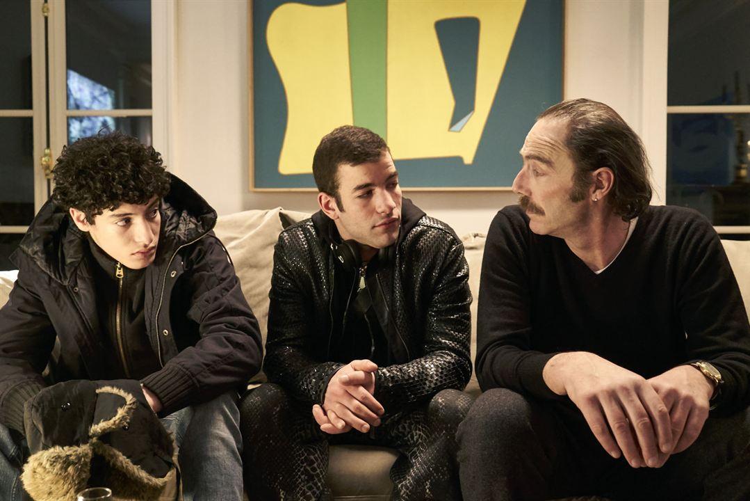 Foto Abdel Bendaher, Philippe Rebbot, Rabah Naït Oufella