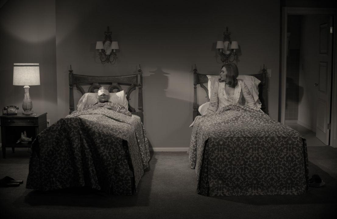 WandaVision : Foto Elizabeth Olsen, Paul Bettany