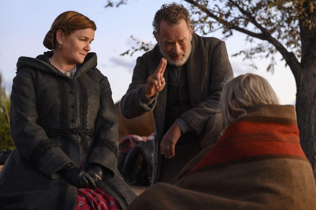 Relatos do Mundo: Mare Winningham, Tom Hanks, Helena Zengel