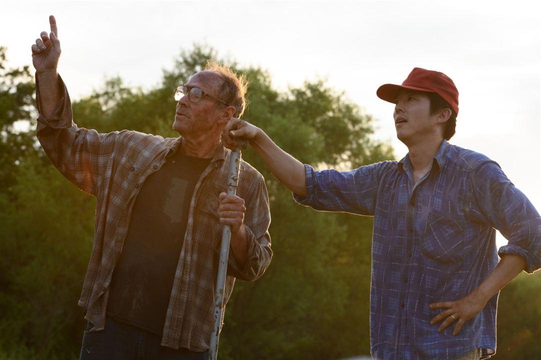 Minari - Em Busca da Felicidade: Will Patton, Steven Yeun