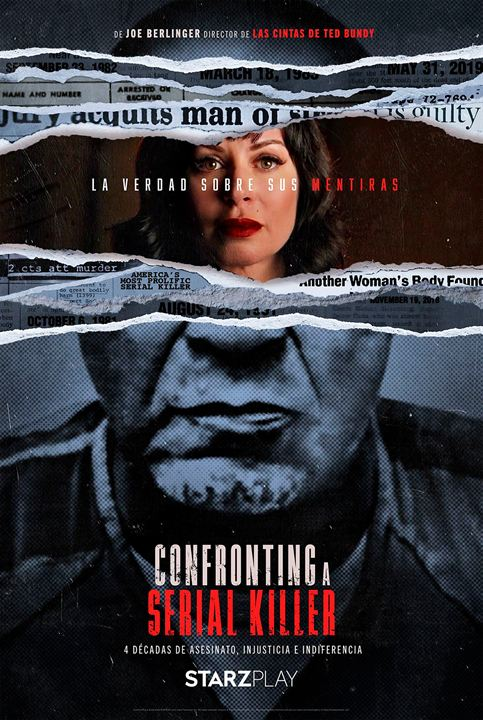 Confronting a Serial Killer : Poster