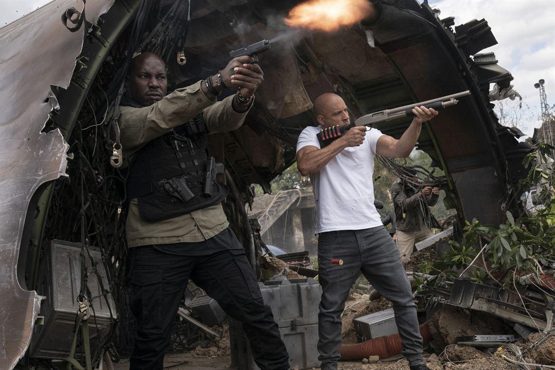 Velozes & Furiosos 9 : Foto Tyrese Gibson, Vin Diesel