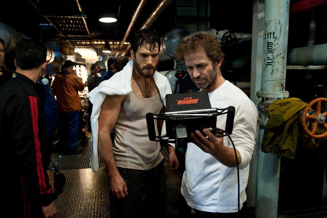 O Homem de Aço : Foto Henry Cavill, Zack Snyder