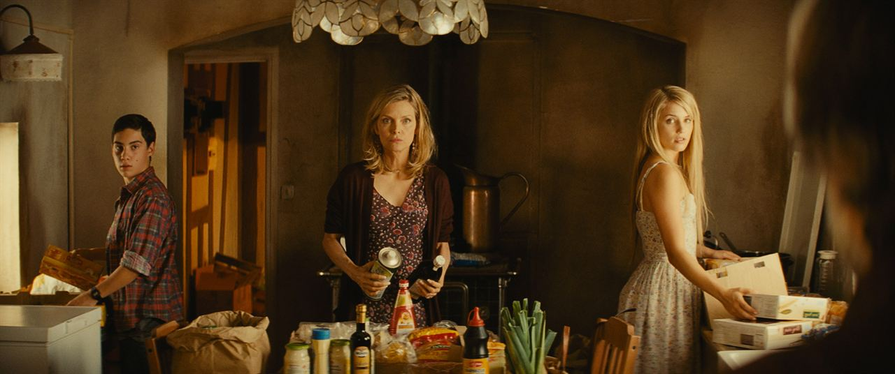 A Família : Foto Michelle Pfeiffer