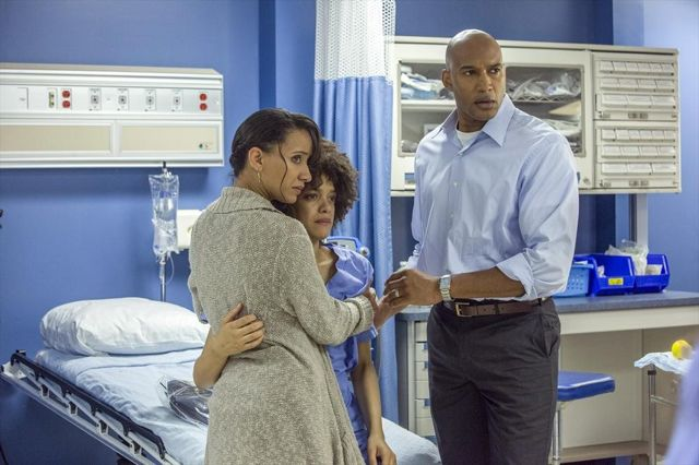 Foto Britne Oldford, Henry Simmons, Sophina Brown