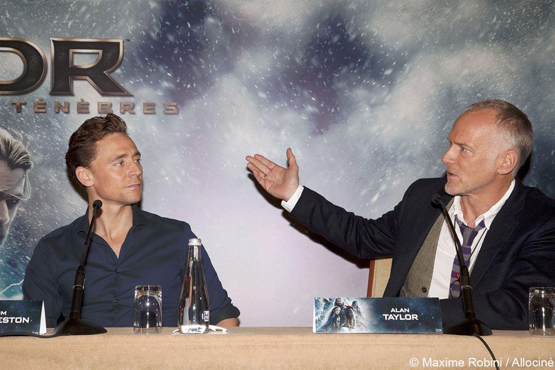 Thor: O Mundo Sombrio : Vignette (magazine) Alan Taylor, Tom Hiddleston