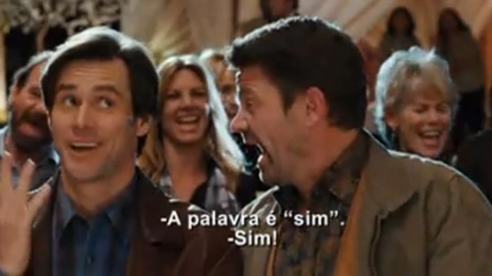 SIM COM BAIXAR DUBLADO O SENHOR FILME CARREY JIM